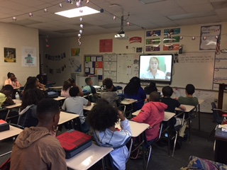 Oxendine's Class Skyping