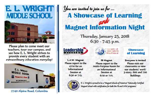 Magnet Info Night Flyer