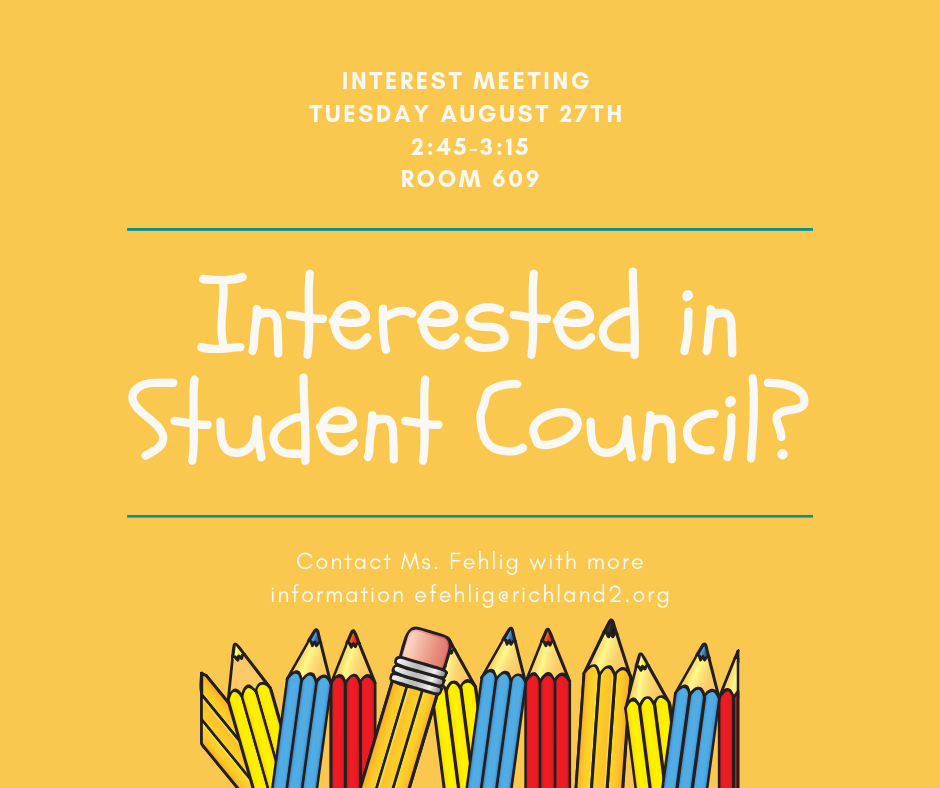 Student Council Interest Meeting